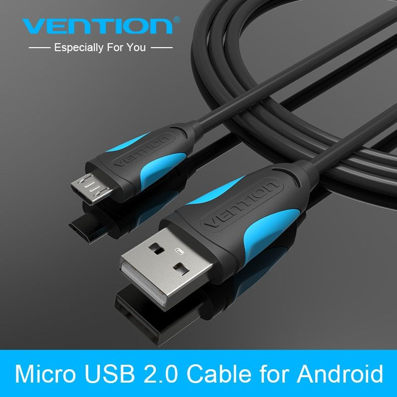 Vention Micro USB Cable 1m,2m,3m Mobile Phone Charging Cable 2.0 Data sync Charger Cable for HTC Android Phone