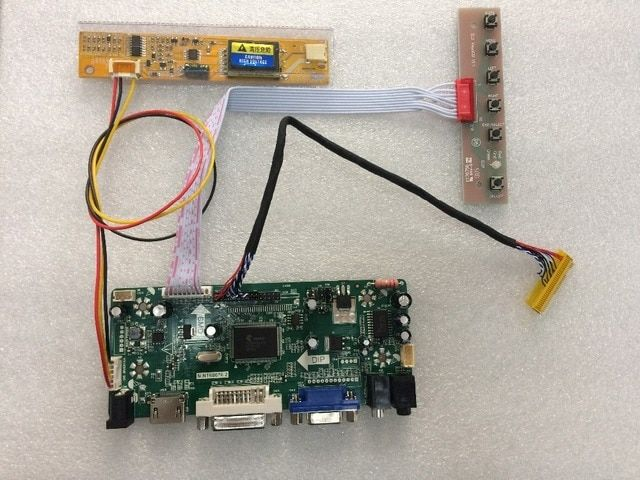 HDMI VGA DVI Audio LCD Controller Driver Board M.NT68676 For B154EW08 LTN154X3-L01 1280*800 Lcd Panel 100% Test