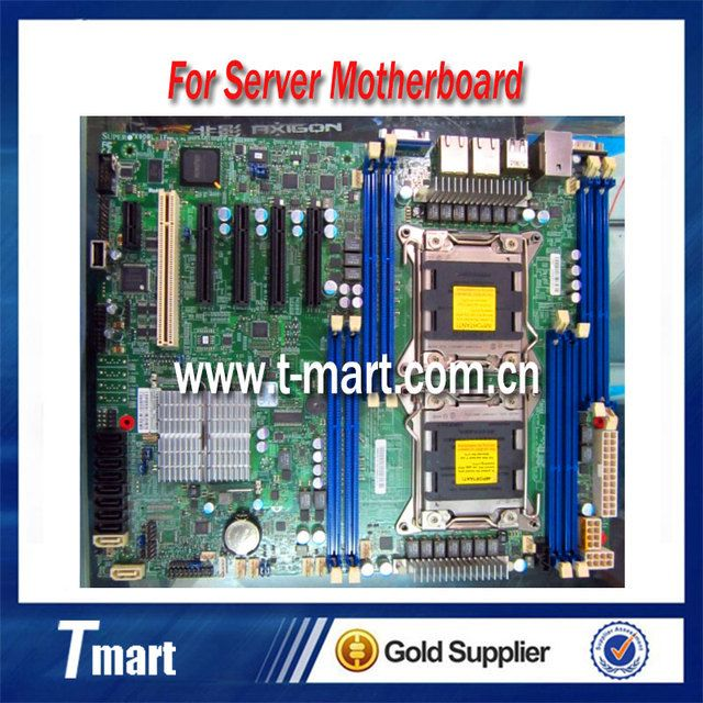 100% working server motherboard for X9DRL-iF LGA2011 C602 DDR3 system mainboard fully tested