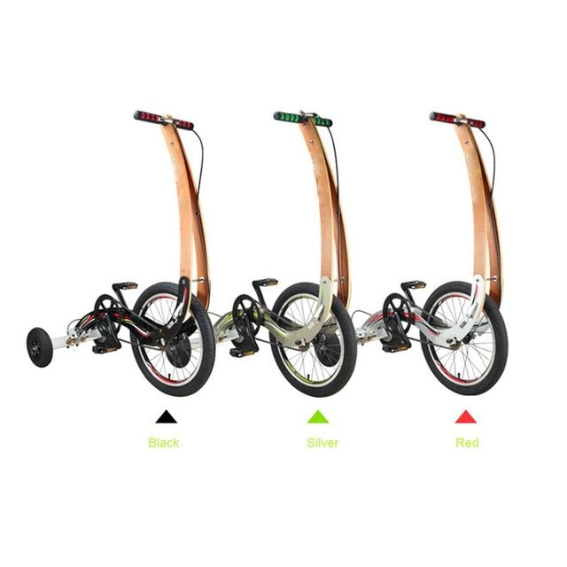 3 wheel bike exercise tricycle halfbike