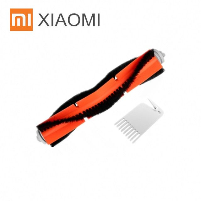 1PC Main Brush & 1PC Cleaning Tool for XIAOMI MI Robot Vacuum Cleaner Center Brush Agitator Brush Original