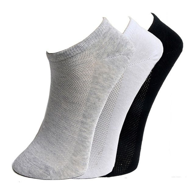 Fashion New Quality Women's Boat Socks Classic Black White Gray Summer Style Cool Mesh Design Ankle Sock Slippers Free Shipping