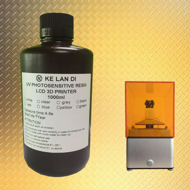 Hot selling liquid Casting / Wax resin for LCD/SLA 3d printer 1000 ml