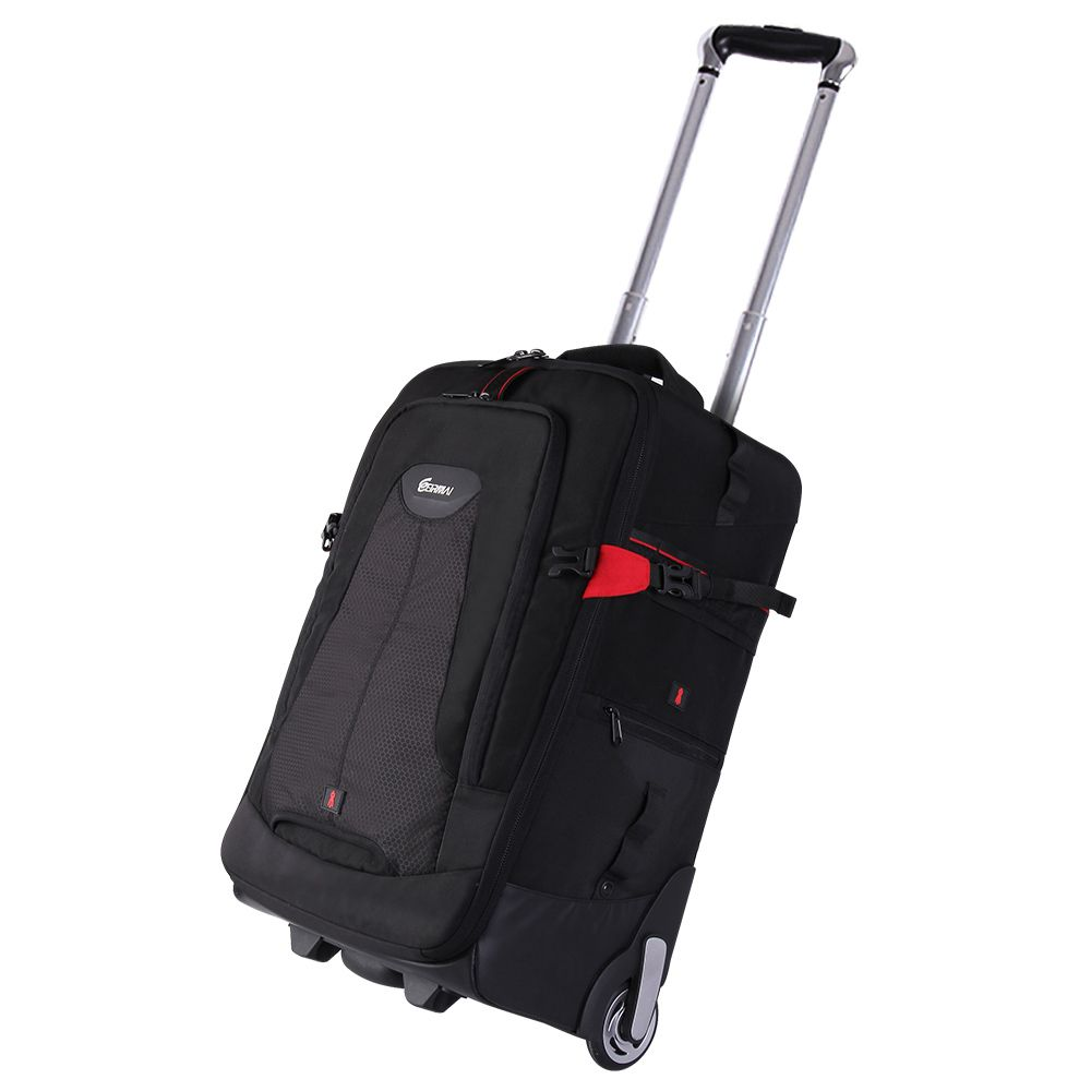 Trolley  camera bags DSLR  waterproof backpack camera bags EIRMAI  Manufacturer China  Large space Trolley