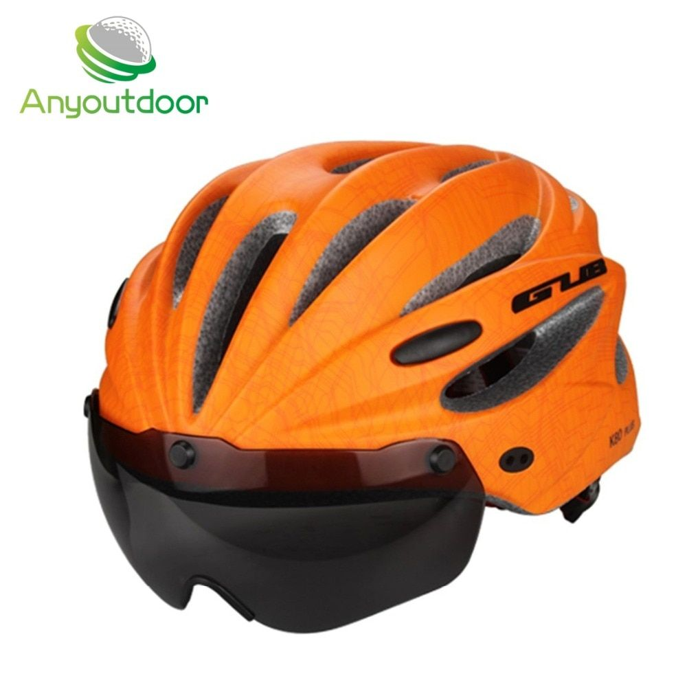 New Ultralight EPS Casco Ciclismo Bicycle Helmet With Goggles Men's Cycling Helmet Road Mountain MTB Bike Helmets Casque Vtt