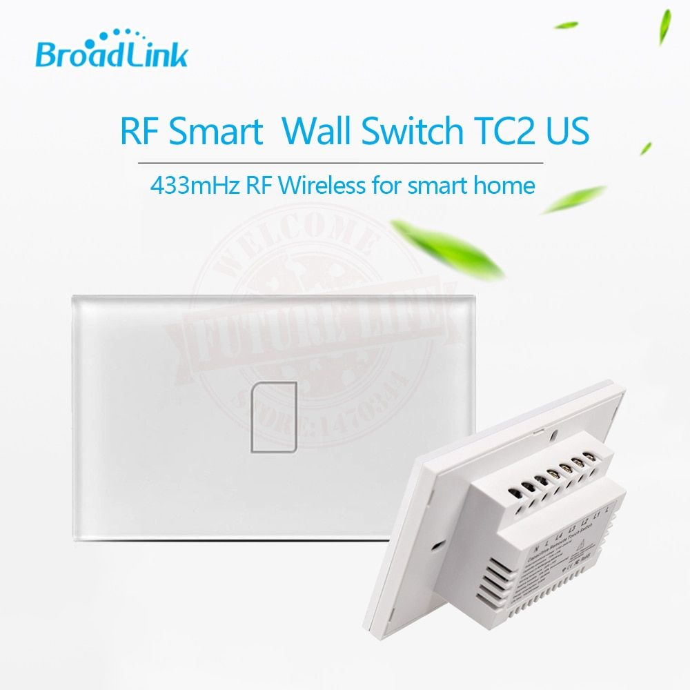 Broadlink TC2,US Standard,1 gang,smart home Automation,mobile APP Remote wireless control lamp light Switch by broadlink rm pro