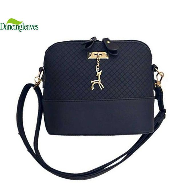 HOT SALE!2016 Women Messenger Bags Fashion Mini Bag With Deer Toy Shell Shape Bag Women Shoulder Bags free shipping  DL0046