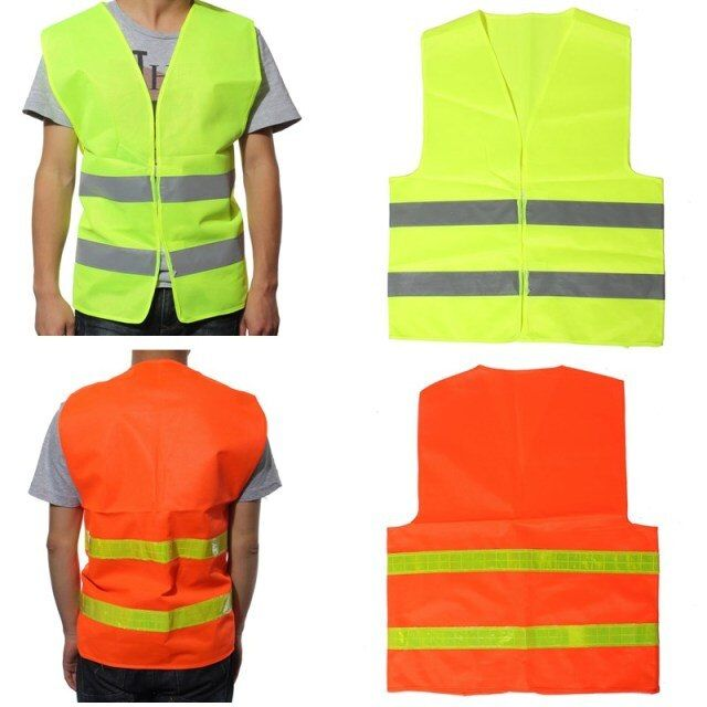 High Visibility Reflective Safety Vests Environmental Sanitation Coat