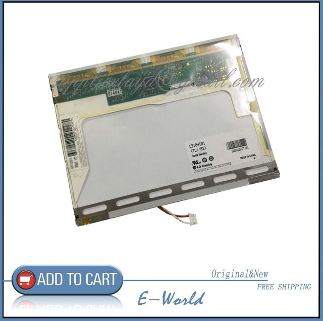 "LB104S01 LB104S01(TL)(02) LP104S5(C1) LB104S01-TL02 LB104S01(TD)(01) LB104S01-TL01 Original 10.4"" LCD Panel Screen Free Shipping"
