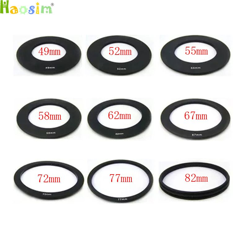40.5 49 52 55 58 62 67 72 77 82mm ring Adapter for Cokin p series