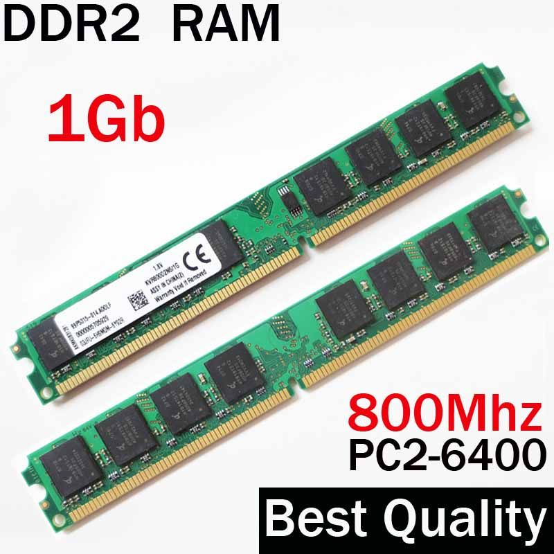 1Gb DDR2 800Mhz RAM 800 ddr2 1Gb / For AMD for Intel memory ram / RAM PC 6400 PC2-6400 compatible with all brand RAM 2Gb 4Gb