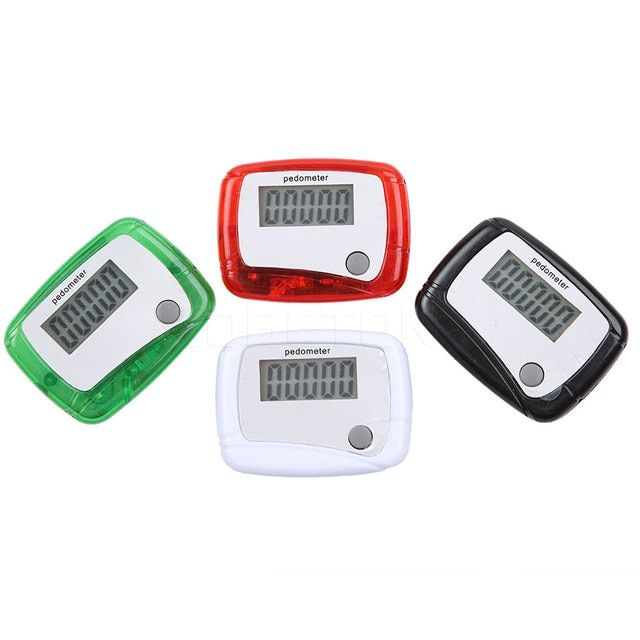 LCD Pedometer Step Counter Consumer Electronics Running Jogging Step Movement Counter