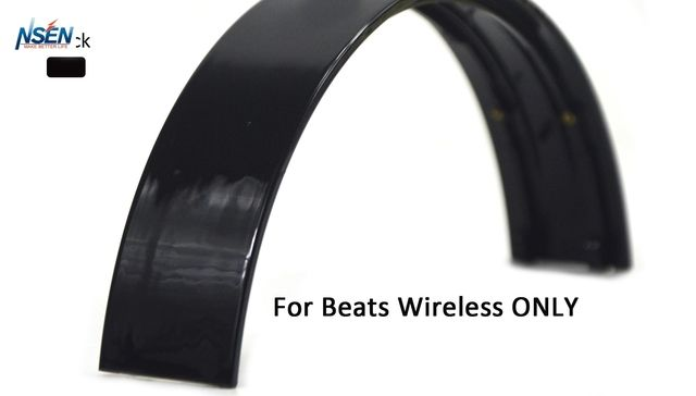 Replacement Repair Parts Headband for Beats By Dr Dre Wireless Headphones(Not For Studio Wireless) (Black)