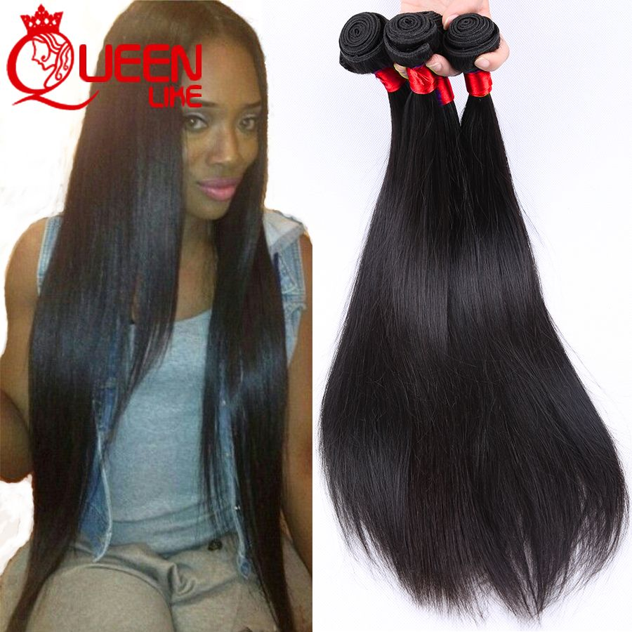 Mink Brazilian Virgin Hair Straight 4 Pcs Human Hair Weave Bundles Rosa Products 8A Unprocessed Virgin Brazilian Straight Hair