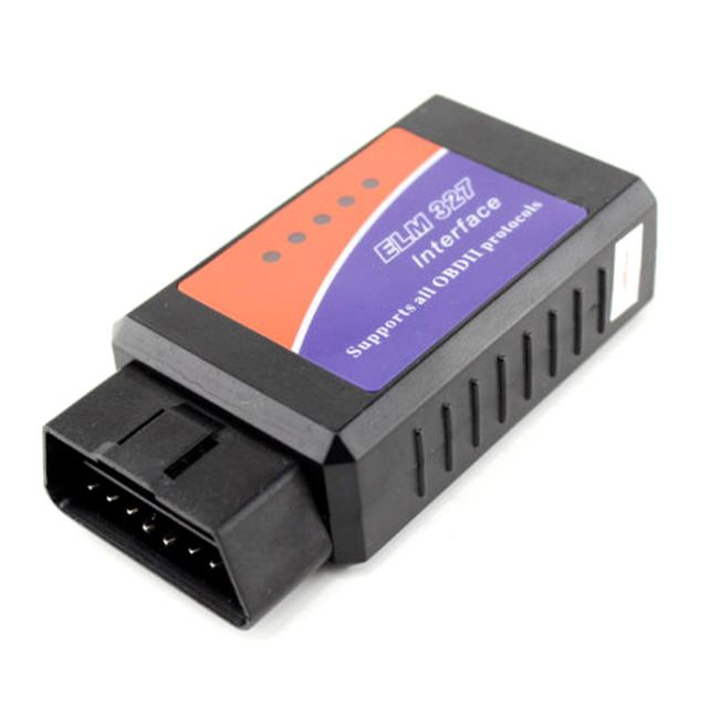 ELM 327 V1.5 Works On Android Torque Car OBDII Elm327 Bluetooth OBD 2 Interface OBD2 / OBD II Auto Car Diagnostic Scanner Tools