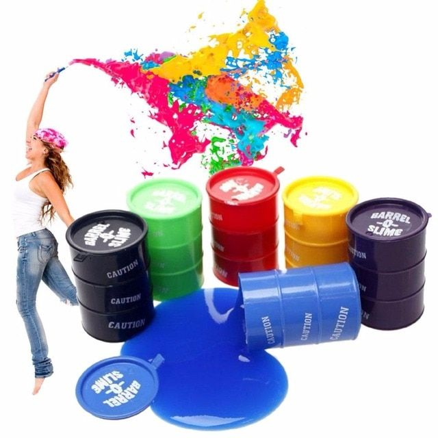 Barrel Slime Playdough Magnetic Rubber Mud Polymer Clay Toys Educational Crystal Plasticine Mud Slime Toys For Kids
