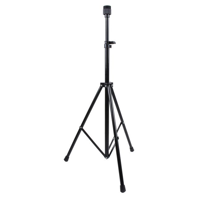 Adjustable Metal Tripod Stand Training Mannequin Head Holder Clamp Pillar Hair Showed Prop Mainstay Storage Holders Racks