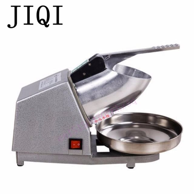 JIQI commercial home Ice crusher   ice maker   high power electric ice breaking machine