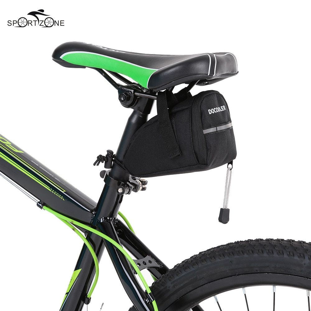 Docooler Oxford Cloth Bicycle Bag Road MTB Bike Storage Saddle Bag Cycling Rear Seat Tail Bag Pouch Package Bolsa Bicicleta