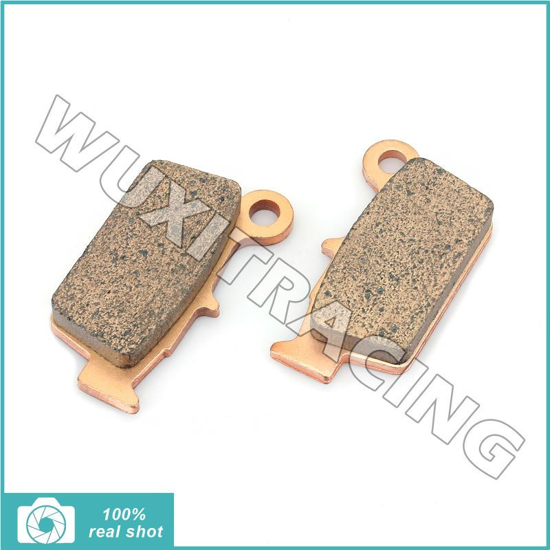 2003 2004 2005 2006 2007 2008 2009 2010 2011 2pcs Sintered Rear Brake Pads for YAMAHA YZ 125 YZ 250 YZ 450 03-11 WR 250 WR 450