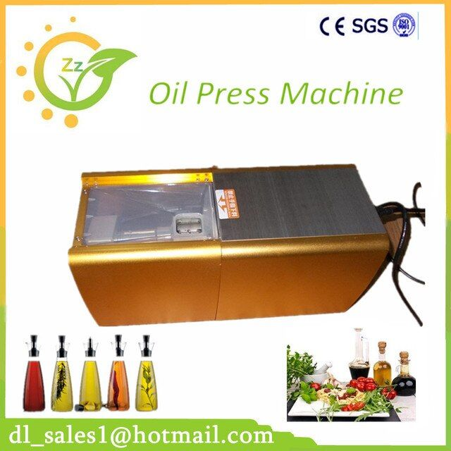 1PC 200W DL-ZYJ02 Mini Seed Oil Press Machine Home Use Peanut Oil Pressing Presser Machine With CE Approved