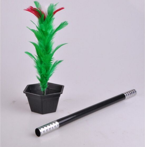 Magic Wand To Flower Magic Trick Kid Show Prop Toys