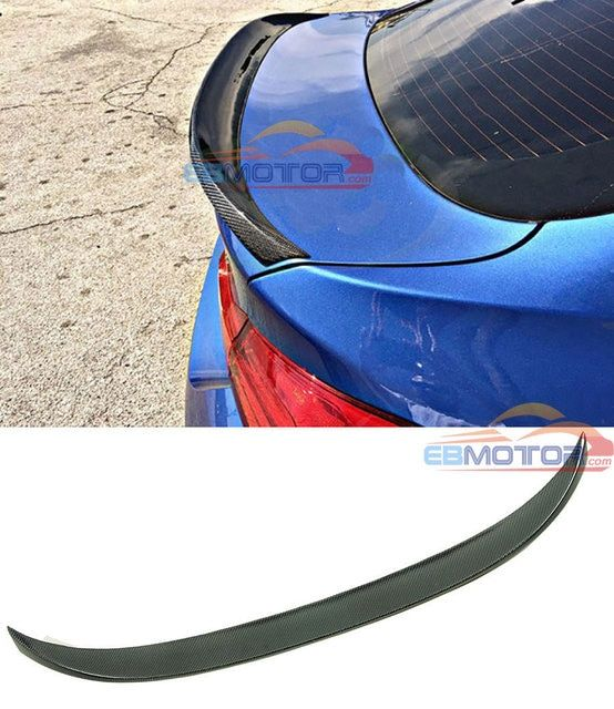 P Style Real Carbon Fiber Trunk Spoiler For BMW F36 Gran Coupe 4 Series 420i 428i 435i 2014UP B369