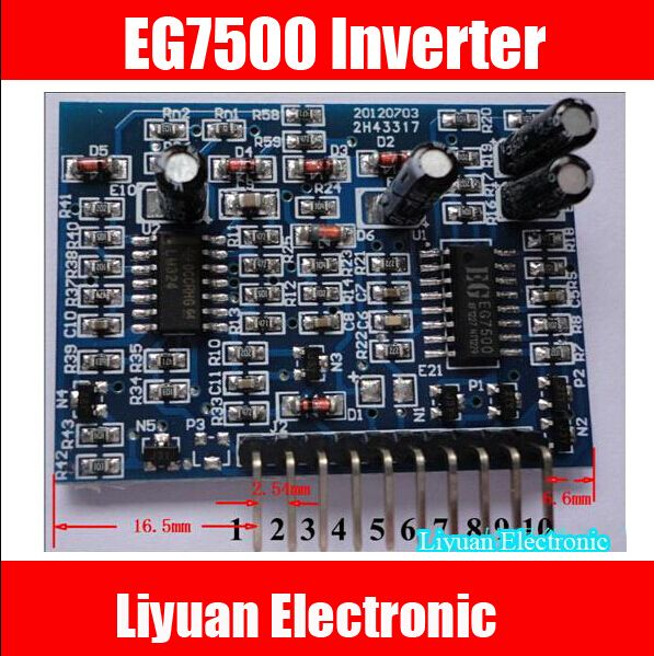 10PCS/LOT 100% NEW EG TL494 / 7500 inverter boost driver board EG7500