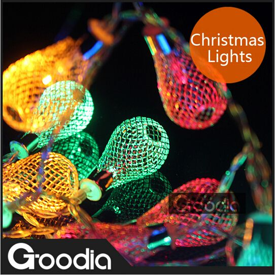 new year luminaria christmas lights,garland string lights,AA battery 20pcs bulb,garland light,luminarias home decoration