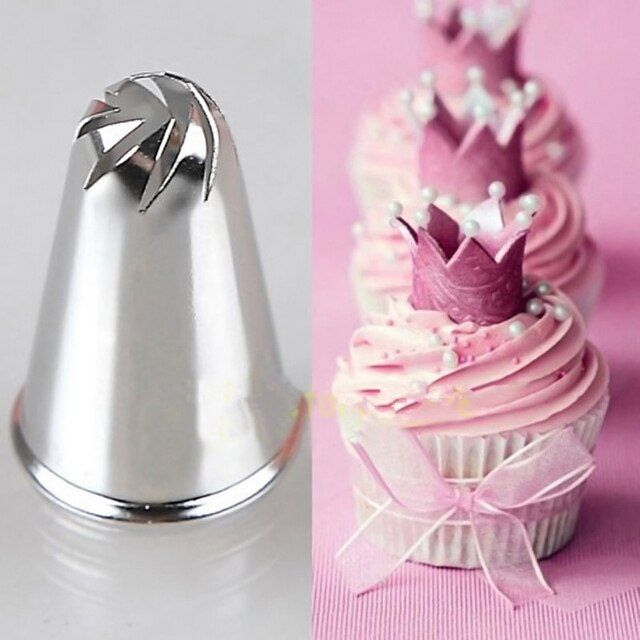 EZLIFE DIY New Flower Spiral Icing Piping Tips Nozzle Cake Cupcake Decorating Pastry Tool ZH813