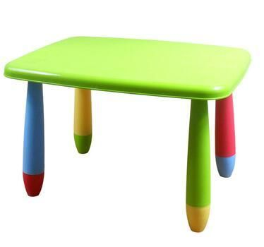 Table for children to learn. Where's the baby. The rectangular table.
