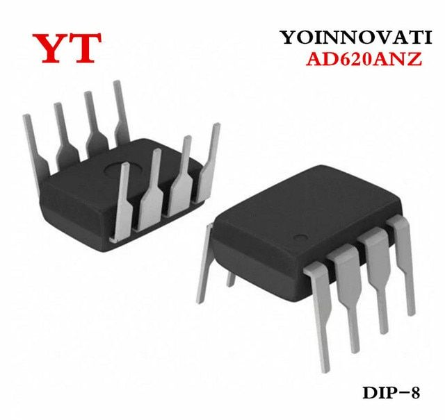 Free shipping 5pcs/lot AD620ANZ AD620AN AD620 DIP-8 IC.