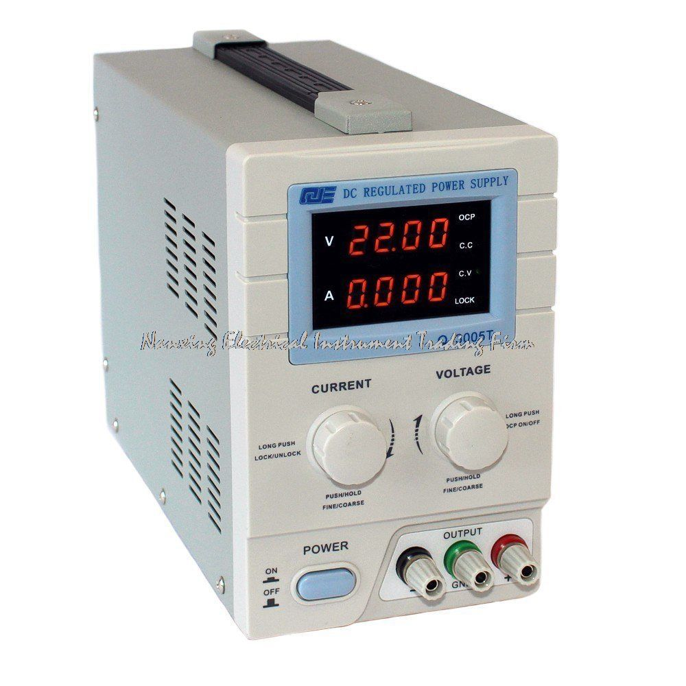 fast arrival QJE computer/phone/SPC programmable adjustable DC power supply QJ3005T Single phase 0~30V 0~5A resolution 10mV 1mA
