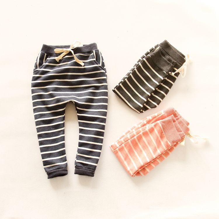 Free shipping,clothes kids Clothing, children boys girls pants,child boys girls trousers,striped boys Harem pants