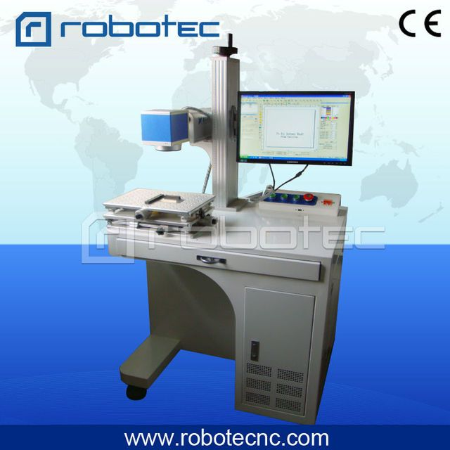 10w 20w raycus metal sheet fiber laser marking machine for steel carbone