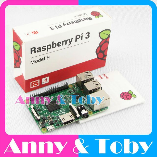 RS Version (made in the UK): Original Raspberry Pi3 Model B Board Ras PI3 Card Board 1GB LPDDR2 Quad-Core with WiFi&Bluetooth