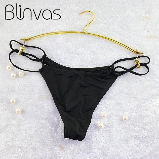 Sexy Panties For Women Special Chain Designed G Strings Ladies' Thong Polyester Underpants Calcinha 5 Colors Seamless Lingerie