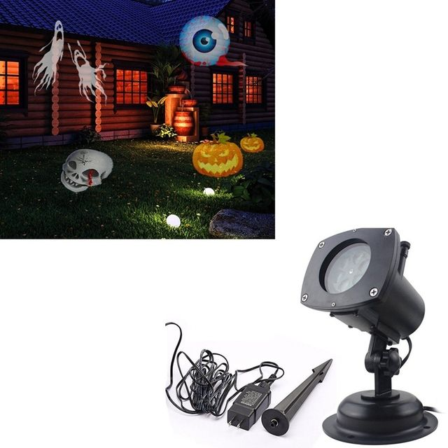 Christmas Projector Lamp 12 Replaceable Lens 12 Colorful Patterns Night Lamp Halloween Birthday Wedding Decoration Lamp