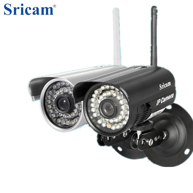 Sricam SP013 720P HD H.264 WIFI IP Camera Infrared Wireless Security CCTV Camera Onvif IR LED Night Vision Motion Detection