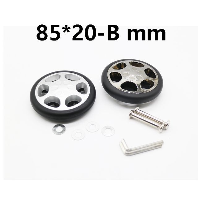 replacement luggage Inline Wheels Dia: 85 x 22mm