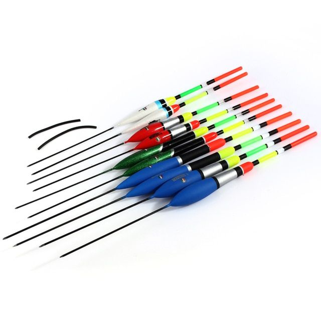 FISH KING Bobbers Fishing Float Set Master Series Floats Fishing Light Stick 26cm 1g 3g 6g 10pcs/lot Fishing Bobber