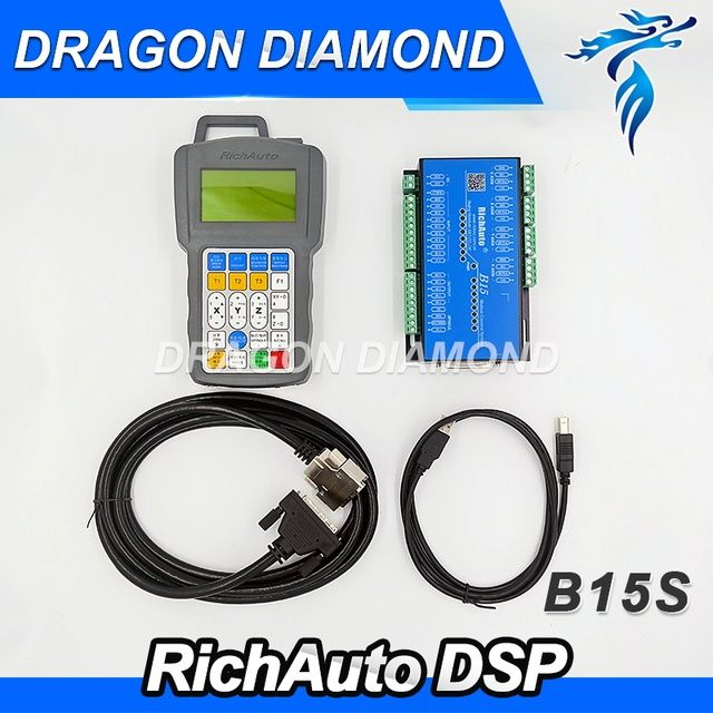 DSP Handle English Version B15S RichAuto DSP Controller for CNC Router/ CNC Engraver