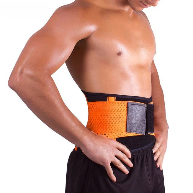 2016 Neoprene Waist Trimmer Exercise Belt Slimming Burn Fat Sauna Sweat Loss Weight Belly Girdle For Men Women