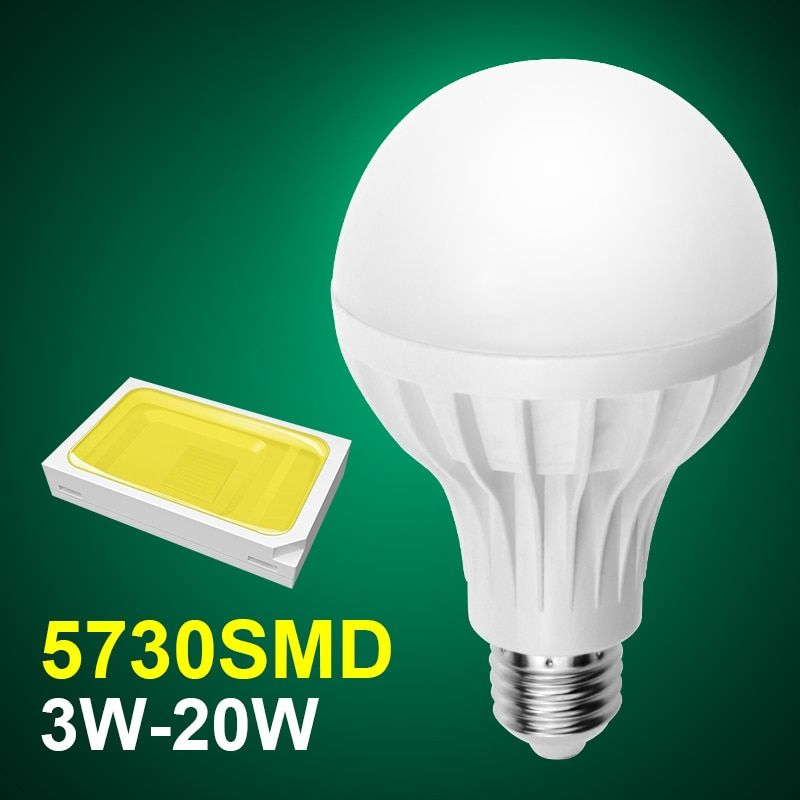 E27 Led  Bulb Lamp 220V 3w 5w 7w 9w12w 15w Lampada SMD 2835 Led Bulb Wholesale Bombillas luz E27 Led Spotlight 110V