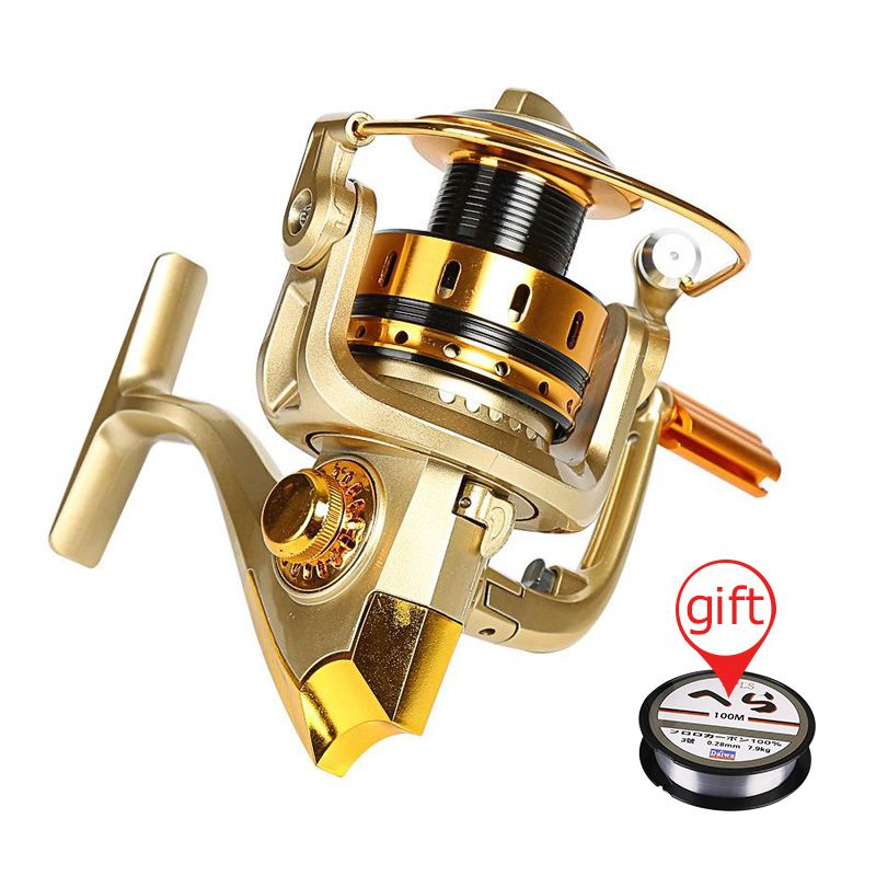 Full Metal Reel Rocker Arm Saltwater Fishing Reel Sea Rod Spinning Reels 10BB Baitcasting Fishing Reel Wheel Tackle Gear