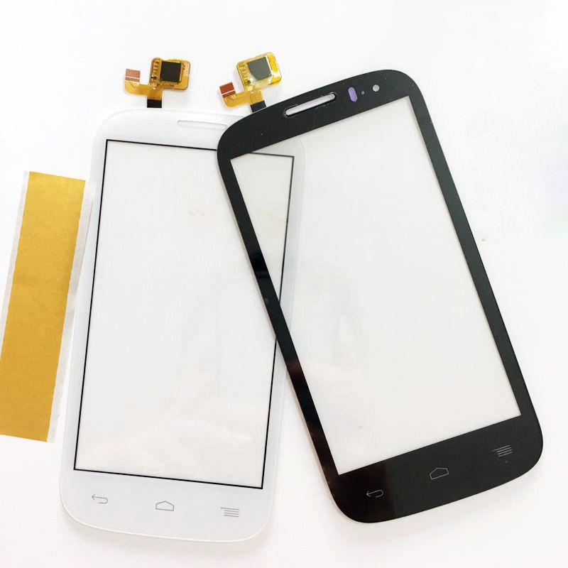 "Touch Screen Sensor For Alcatel One Touch C5 Ot5036 5036 5036D Touch Screen Front Glass Panel Digitizer 4.5"" Mobile Phone"