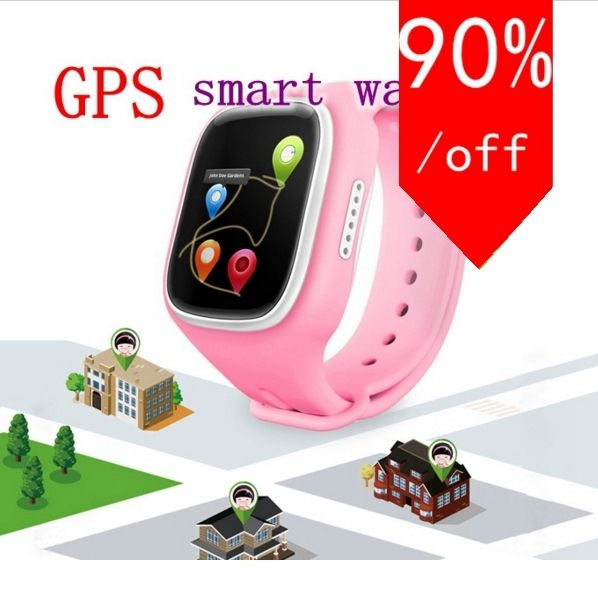 GPS smart Watch for Kid Safe Call Anti Lost reminder fitness wearable devices baby gift for android or iOS phone PK q60 q90 q50