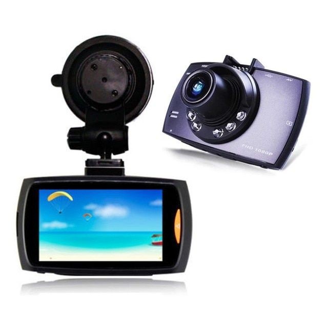 "Dash Cam 2.7"" G30 140 Degree Car DVR Full HD 1080P NT96220 chip with Night Vision G - Sensor"