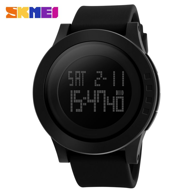 2019 Popular Luxury Brand Men Fashion Casual Watches Men's LED Digital Sports Watches Shock Resist Mens Wristwatches SKMEI Watch