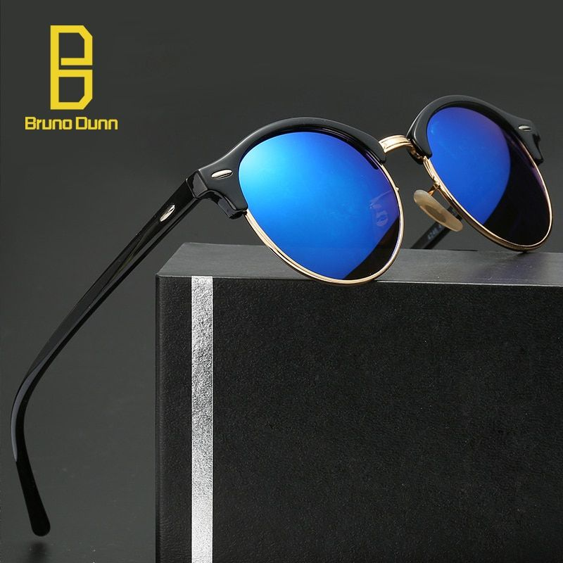 Retro Unisex Sunglasses Men Women Driving Mirrors Coating Points Black Eyewear Female ladies Sun Glasses Male UV400 4246
